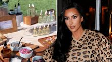 Kim Kardashian hosts CBD themed baby shower complete with sound bath session