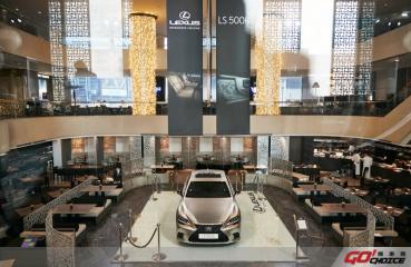 奢華與內斂的完美結合 LEXUS小改款LS 475萬元起全新上市