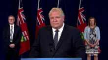 Coronavirus outbreak: Ontario premier says he supports reunification of Canadians with close family across U.S. border