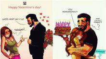 Yehuda Devir crea divertidas ilustraciones sobre la vida en pareja