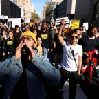 Protest Over Police Shooting in Sacramento