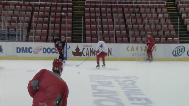 Red Wings ready for Game 4