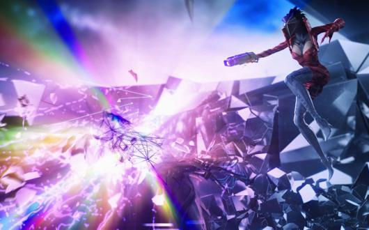 Harmonix announces music shooter 'Chroma,' sign up for alpha testing now