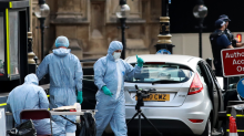 Crash outside parliament in London being treated as an act of terror