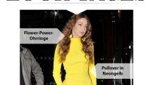 Look des Tages: Gigi Hadid strahlt so schön auf der Paris Fashion Week