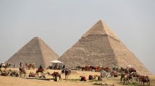 Blast near Giza pyramids injures 17, mainly tourists