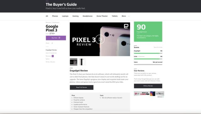 Check out our improved and expanded buyer's guide!