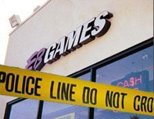 Police investigate EB Games slaying