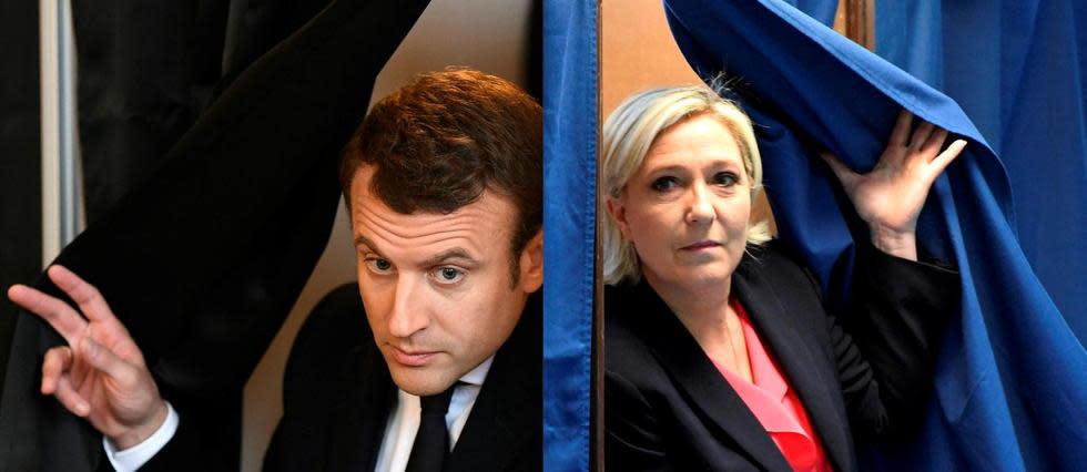 Présidentielle 2022: Macron et Le Pen toujours en tête au 1er tour