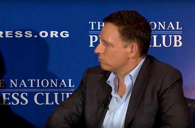 Peter Thiel's tech wealth made him a First Amendment gatekeeper