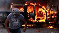 Violent protests continue to rage across Mideast