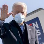 Trump and Biden battle over the economy and COVID as voter turnout breaks records