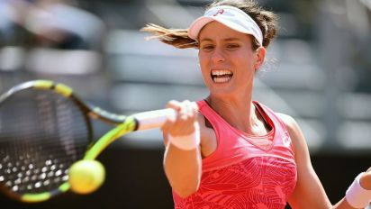With many of her biggest rivals absent in Paris, Johanna Konta is well poised to throw her hat into the ring
