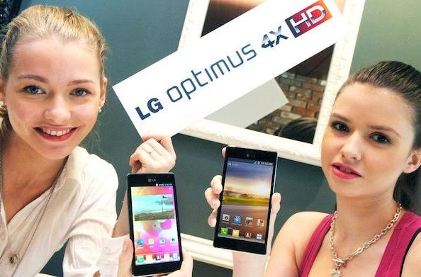LG Optimus 4X HD unveiled: Quad-core Tegra 3, Ice Cream Sandwich, 4.7-inch display