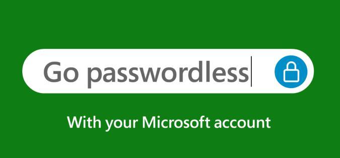 Passwordless Microsoft account