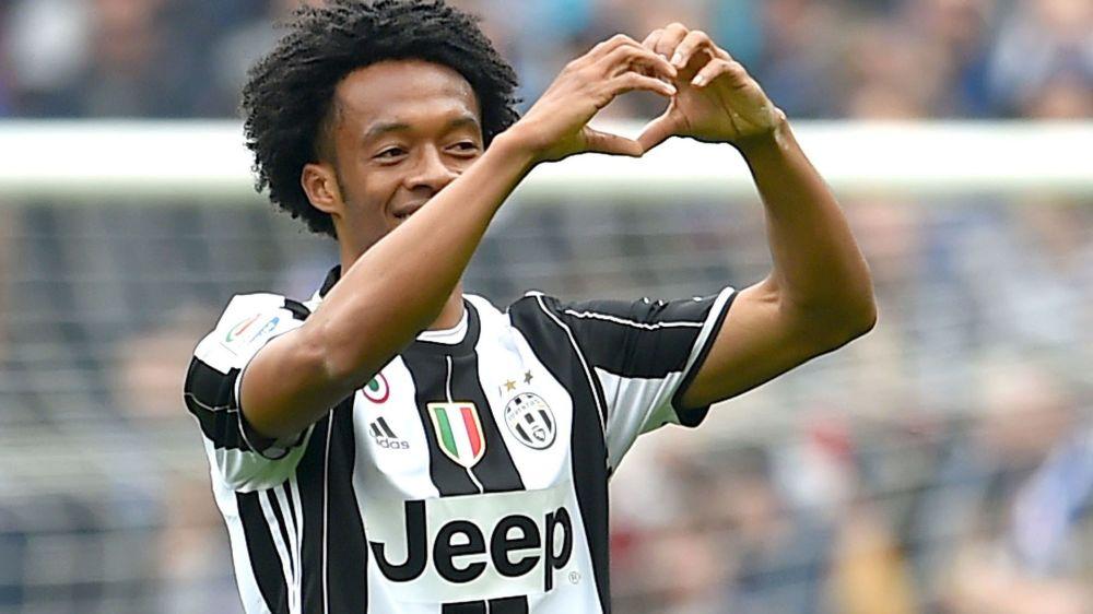 Cuadrado, elegido MVP de la Juventus en el mes de marzo