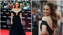 Paula Echevarría triunfa en Málaga con un vestido de casi 3.000 euros