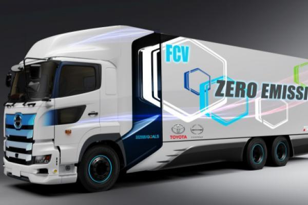 News post image: Toyota And Hino Work On Fuel Cell Heavy-Duty Trucks