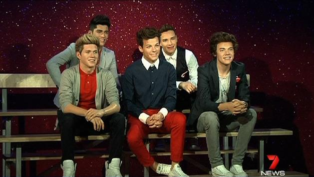 One Direction immortalised in wax