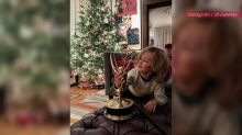 "Olivia Wilde Is Celebrating the Holiday Season in an ""Impeach"" Trump Sweatshirt"