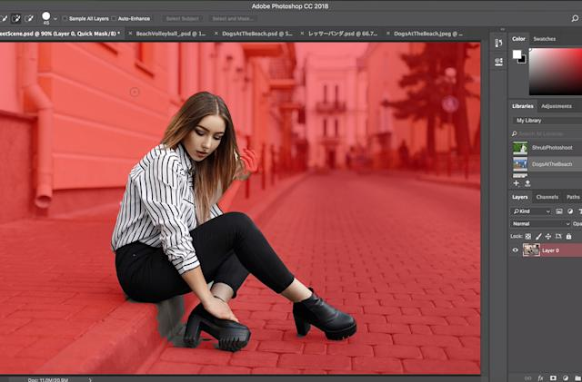 Photoshop uses AI to make selecting people less of a hassle