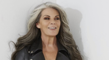 55-year-old model shamed for low-cut top fires back: Women judging other women 'is just sad'