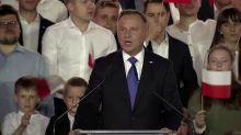 Duda re-elected in Poland as new EU battles loom
