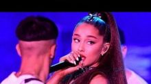 Pete Davidson Gushes Over Girlfriend Ariana Grande's 'Lit' Performance -- And She Hollers Back!