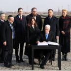 Pence accuses Iran of Nazi-like anti-Semitism