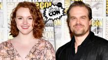 'Stranger Things' Stars Shannon Purser and David Harbour on Their Emmys Windfall