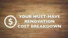 Your Must-Have Renovation Cost Breakdown