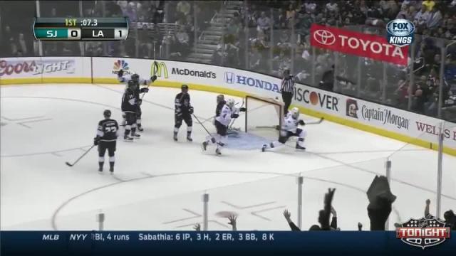 San Jose Sharks at Los Angeles Kings - 04/24/2014