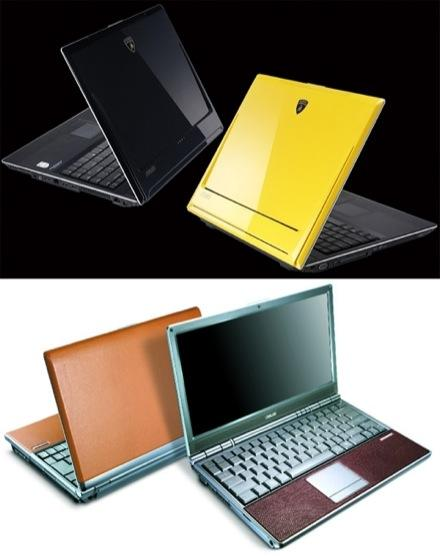 ASUS's Golden Edition VX1 and leather S6F: if you got it, flaunt it