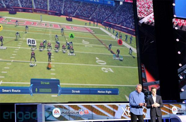 Xbox 360 software at E3: FIFA 2013 / Madden 2013 gaining Kinect voice commands; Halo 4, Fable, Forza Horizon and Gears of War showcased