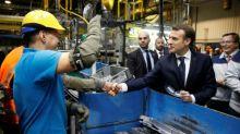 Operativo de seducción de Macron a 140 multinacionales antes de Davos