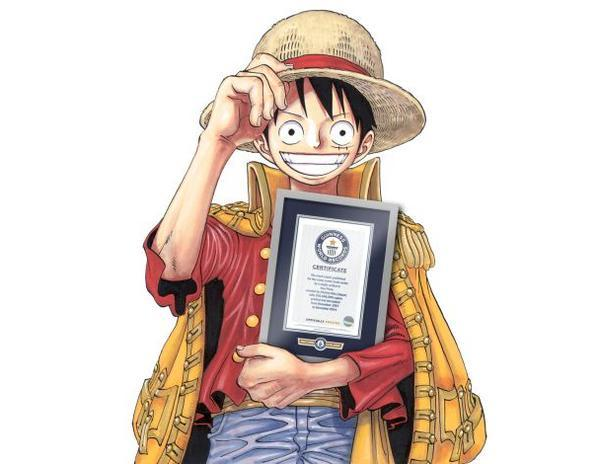 'One Piece' sails into Guinness World Records