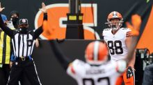 Browns tight ends Harrison Bryant and David Njoku knew they needed to step up with Austin Hooper out