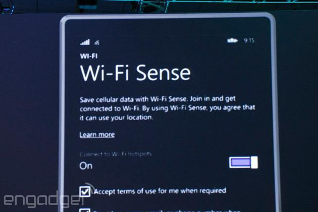 Windows Phone 8.1 will automatically sign in to trustworthy WiFi