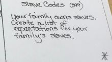 School apologizes for homework prompting students to pretend they own slaves