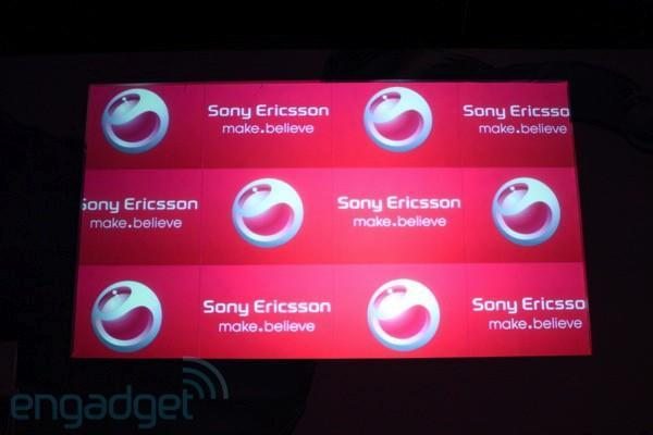 Live from Sony Ericsson's MWC 2010 press conference