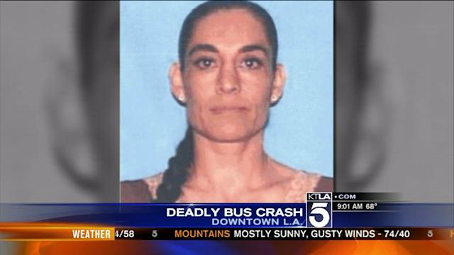MTA Bus Driver Killed in Downtown L.A. Crash Identified