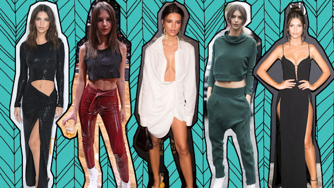 10 outfits Emily Ratajkowski wore that us mere mortals would struggle to pull off