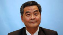 Hong Kong leader says will not run for re-election