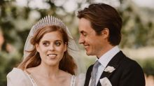 Princess Beatrice Wore Valentino Heels She's Had for Years to Her Royal Wedding