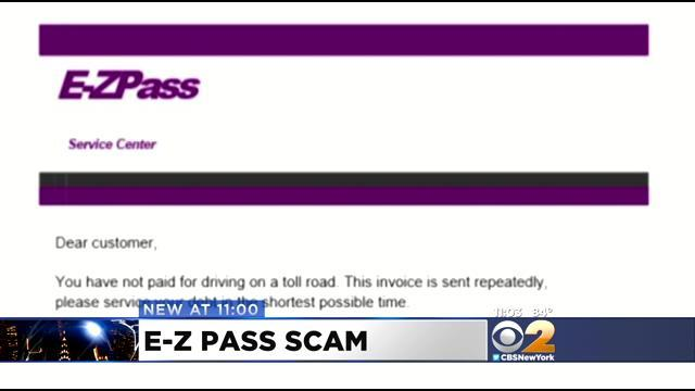 Scam Targets EZ-Pass Users Driving Into The City