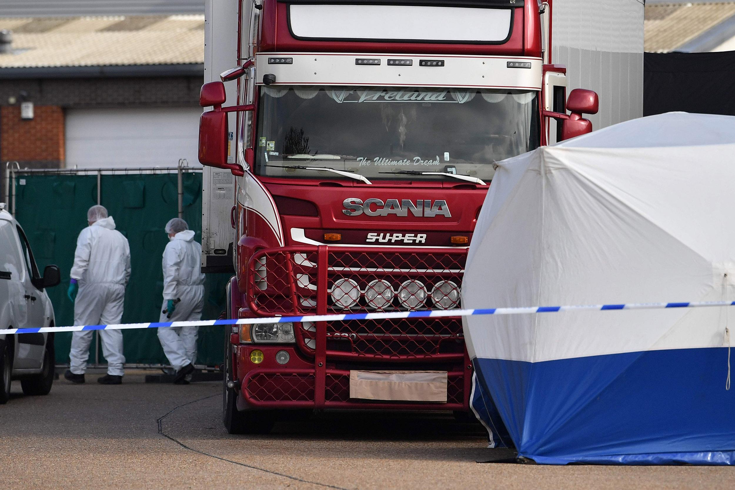 British truck driver pleads guilty in deaths of 39 Vietnamese migrants found in container