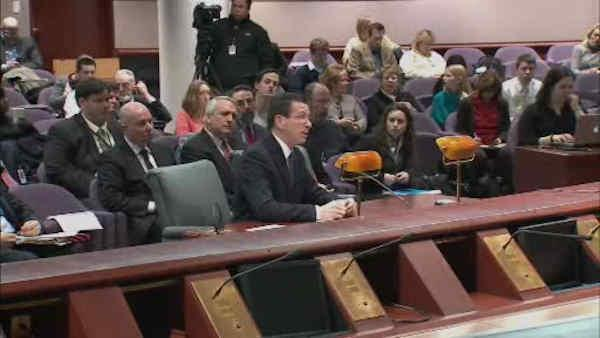 Hearing held on Sandy Hook shootings
