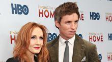 Eddie Redmayne opposes J.K. Rowling's transgender remarks