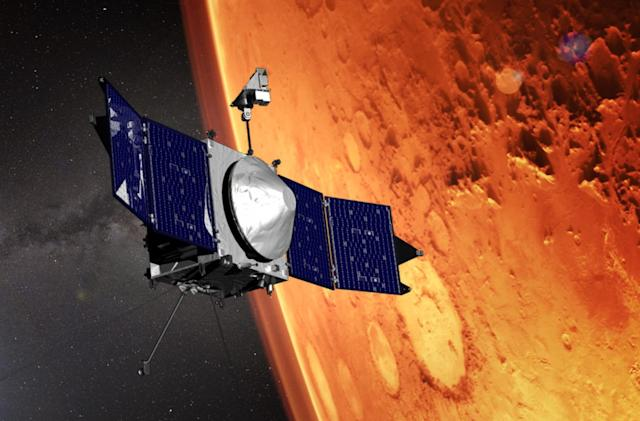 NASA puts a key satellite in place for its Mars 2020 mission