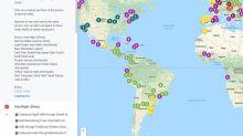 Cómo viajar por el mundo con un mapa que recopila cientos de videos de paseos de a pie